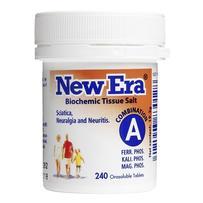 New Era - Tissue Salt Combination A Tablets 240