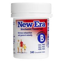 New Era - Tissue Salt Combination B Tablets 240