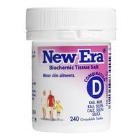 New Era - Tissue Salt Combination D Tablets 240