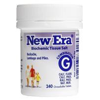 New Era - Tissue Salt Combination G Tablets 240