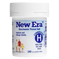 New Era - Tissue Salt Combination H Tablets 240