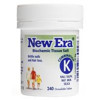 New Era - Tissue Salt Combination K Tablets 240