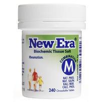 New Era - Tissue Salt Combination M Tablets 240