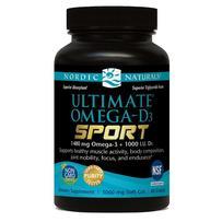 Nordic Naturals Utimate Omega-D3 SPORT 1480mg + Vitamin D3 Softgels 60