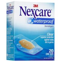 Nexcare - Waterproof Bandages Medium 20's