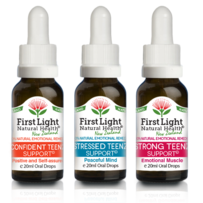 First Light Natural Health Healthy Teenz Kit 3 x 20ml