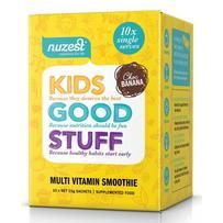 Nuzest 儿童超级绿色营养补充粉 10*15g(香蕉巧克力味)