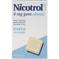 Nicotro 4mg 经典口味戒烟口香糖 150粒