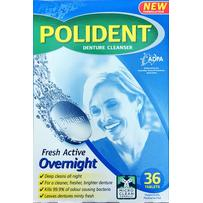 Polident Overnight Denture Tablets 36