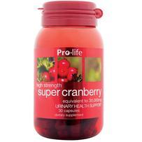 prolife Super Cranberry 30,000mg Capsules 30