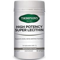 Thompson's 汤普森 高效卵磷脂胶囊 120粒