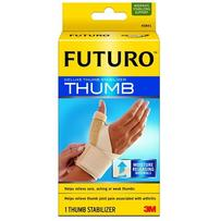 Futuro Deluxe Thumb Stabilizer - SMALL/MEDIUM - Beige - Everyday Use