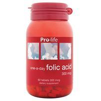 prolife Folic Acid 300mcg Tablets 60