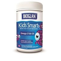 BIOGLAN 聪明儿童Omega-3鱼油咀嚼胶囊 125粒