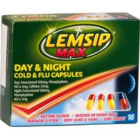 Lemsip Max Cold & Flu Night and Day Capsules 16