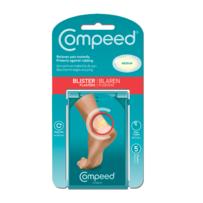 Compeed  脚跟磨损水泡快速止疼药膏贴 中号 5张