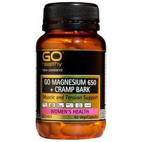 GO Healthy 高之源 650mg 补充镁元素胶囊 60粒