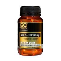 GO Healthy 高之源 60mg 5-HTP羟色氨酸胶囊  60粒