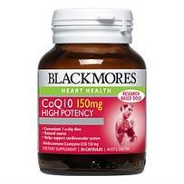 Blackmores 澳佳宝 辅酶Q10保护心血管营养素胶囊 150mg 30粒