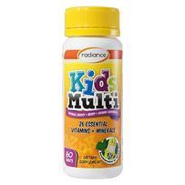 Radiance 儿童多种复合维生素矿物质咀嚼片 60粒