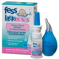 Fess Little Noses 婴幼儿鼻塞软化喷雾+吸鼻器 15ml