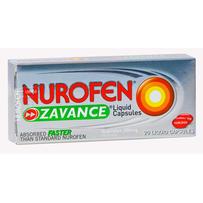 Nurofen Zavance Liquid Capsules 20 每单限购5件