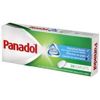 Panadol 速效止痛片 20片 每单限购5件