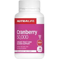 Nutralife 50,000 蔓越莓胶囊 100粒