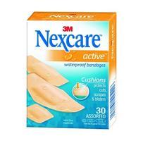 Nexcare - Active Strips 30's - Water Resistant Assorted
