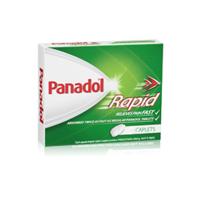 Panadol 快速止痛片 40片 每单限购2件
