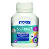 BIOGLAN 聪明儿童多种维生素+鱼油咀嚼胶囊 50粒