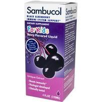 Sambucol 儿童配方接骨木口服液 120ml(预防感冒 提高免疫力)