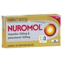 Nuromol Tablets 24 每单限购4件