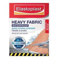 Elastoplast Heavy Fabric Waterproof Dressings 10cm x 6cm 8 Pack