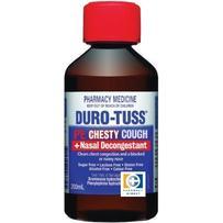 Duro-Tuss PE CHESTY Cough + NASAL DECONGESTANT Syrup 200ml 每单限购2件