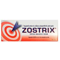 Zostrix Topical Analgesic Cream 25g
