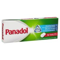 Panadol Optizorb Tablets 12
