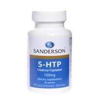 Sanderson 高效5HTP 100mg胶囊 60粒(改善睡眠/消除焦虑)