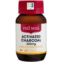 Red Seal 红印 300mg 活性炭胶囊  45粒