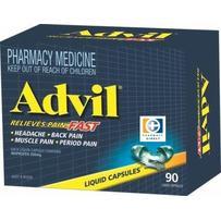 Advil Liquid Capsules 90 每单限购1件