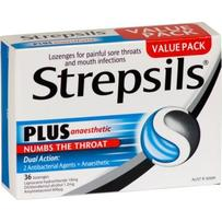 Strepsils Plus Anaesthetic Lozenges 36