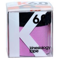 d3 k6.0 Kinesiology Tape 50+25mm x 6m - Purple/Black
