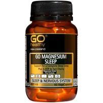 GO Healthy 高之源 补充镁元素胶囊 60粒(放松肌肉/缓解神经紧张)