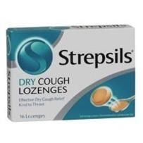 Strepsils DRY Cough Lozenges 36