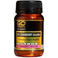 GO Healthy 高之源 60000mg 蔓越莓精华胶囊  30粒