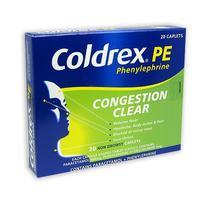 Coldrex 缓解感冒鼻塞液体胶囊 20粒
