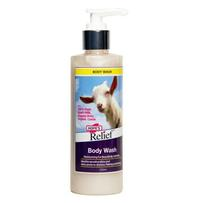 Hopes Relief Goats Milk Body Wash 250ml