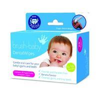 Brush Baby 安心洁牙手指棉套 28片(婴幼儿口腔保健/成分天然/温和无刺激)