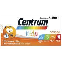 Centrum 善存 儿童复合维生素咀嚼片 60片 香橙味