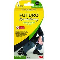 Futuro Revitalizing Casual Socks For Men 1 Pair - Large - Everyday Use